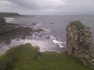 The view from Findlater Castle